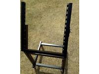 Pronomic MXS-600 mobile rack unit 12+9HE on castors - NEEDS TO GO HARDLY USED
