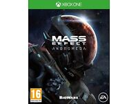 xbox one mass efect andromeda (brand new sealed