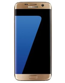 Samsung Galaxy S7 Edge (Latest Model) Gold Platinum Brand New Sealed