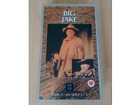 Big Jake (1971) and Cahill US Marshal (1973) VHS Rare