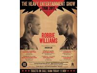 Robbie Williams - The Heavy Entertainment Show Tour