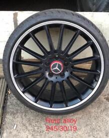 Mercedes c63 amg alloys x2