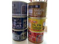 Various Paint tins £1 each to clear - All New - 180ml tins