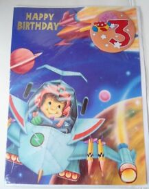 Childrens Age Large Birthday Cards.