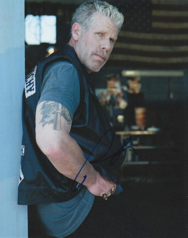 RON PERLMAN.. Sons of Anarchy's Clay - SIGNED
