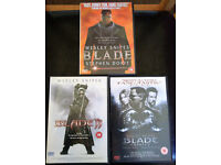 DVDs: Blade / Blade II / Blade Trinity