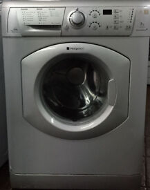 Hotpoint WMF760 7kg 1600Spin Silver LCD A+ Rated Washing Machine 1 YEAR GUARANTEE FREE FITTING