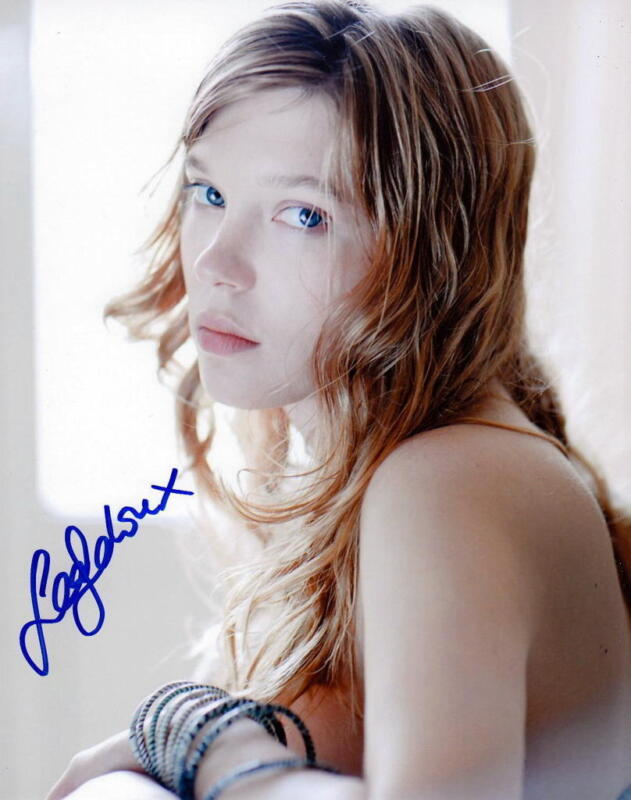 LEA SEYDOUX.. Alluring International Actress - SIGNED