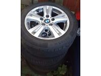 BMW 1/3 SERIES ALLOYS AND TYRES
