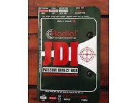100% NEW Condition Radial JDI Passive Di Box with Jenson Transformer DELIVERY AVAILABLE