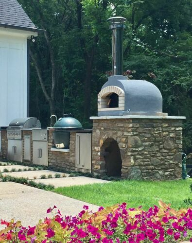 Outdoor Wood Fired Portuguese Brick Pizza Oven 3.0 - NEW GENERATION, Brick