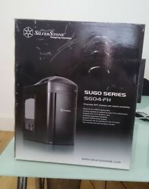 SilverStone Sugo SG04-FH Black Tower Chassis with handle, sealed box, brand new
