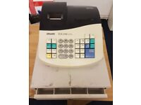 Olivetti ECR2100 Cash Register , 3 Note Trays and 4 Coins Removable Cash Tray Till Box