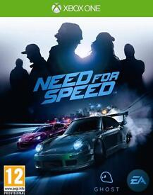 need for speed , xbox one , as new ! price stands , no offers !