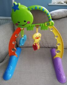 Fisher price baby toy with mirror