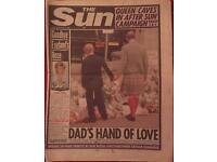 PRINCESS DIANA NEWSPAPERS & MAGS