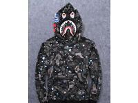 Bathing ape gucci zip hoodies