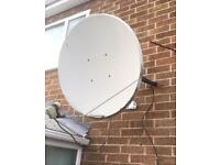Satellite Dish,Motorised.