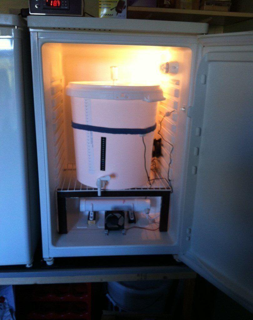 Brewing Fridge Fermentation Chamber Temp Control