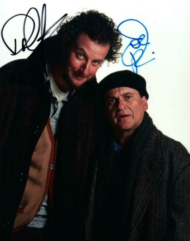 Daniel Stern Joe Pesci signed 8x10 Photo with COA autographed Picture very nice