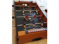 Kids toy football table with two balls