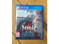 """NIOH Ps4 game in """"like new"""" condition"""