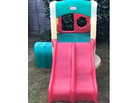 Little tikes twin slide with tunnel