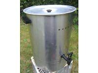 BURCO LARGE Electric Tea Urn Water Boiler 7 gallon 33 litre 500mm high - Leics