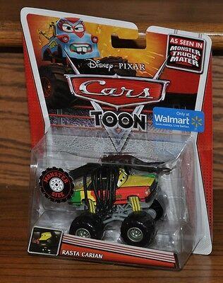 rs Toon Deluxe Die Cast Monster Truck Mater Rasta Carian NEW (Monster Bbw)