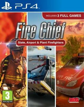 PS4 The Lifesavers: State, Airport + Plant Firefighters