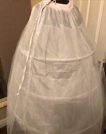 Wedding/Prom 3 hooped Petticoat