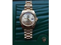 Rolex Gold President Day Date 41