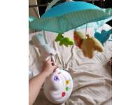 Fisher price precious planets projection mobile and remote