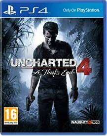 Uncharted 4 A theif's End PS4 game