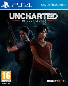 PS4 Uncharted, The Lost Legacy