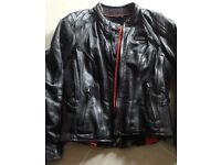 Ladies Harley Davidson FXRG Leather Jacket