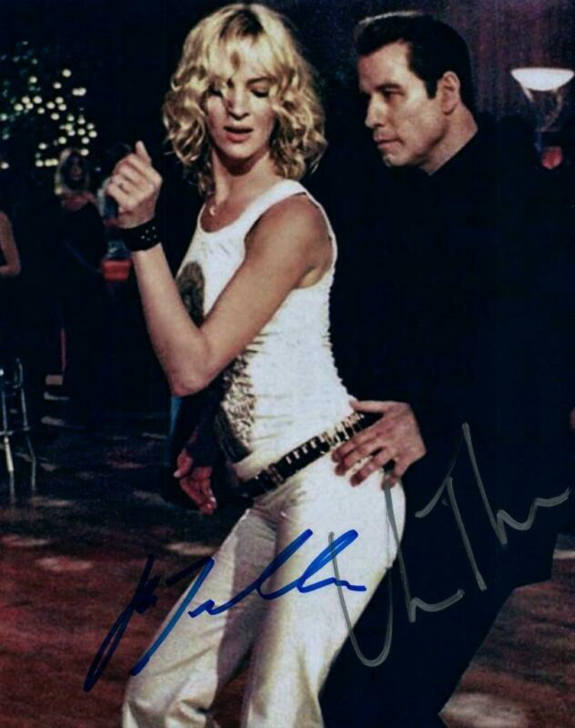 Uma Thurman Travolta signed 8x10 Photo with COA autographed Picture very nice