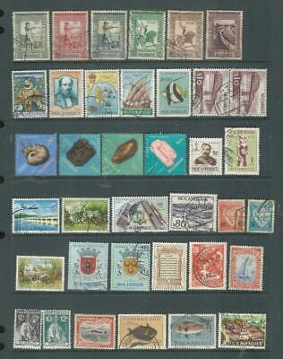 Mozambique-Africa  M/U selection, good range of stamps as scanned [771]