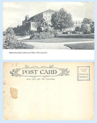 Horticultural Hall Philadelphia Pennsylvania 1907 Building Postcard Architecture