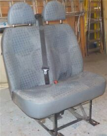 2011 FORD TRANSIT DUAL FRONT SEAT
