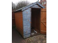 Garden Shed 6ft by 6ft 6 inches