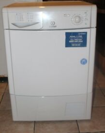 FREE DELIVERY Large 8KG Indesit condenser tumble dryer WARRANTY