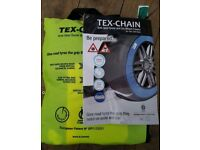 New Tex Chain car snow socks (S) - ideal to have in the car