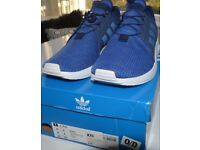 ADIDAS XPLR TRAINERS DARK BLUE SIZE 8(42). BRAND NEW IN BOX. (NEVER BEEN WORN)