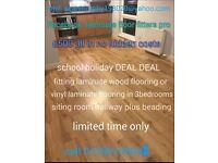Laminate floor fitters pro