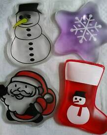 4 x rechargeable hand warmers