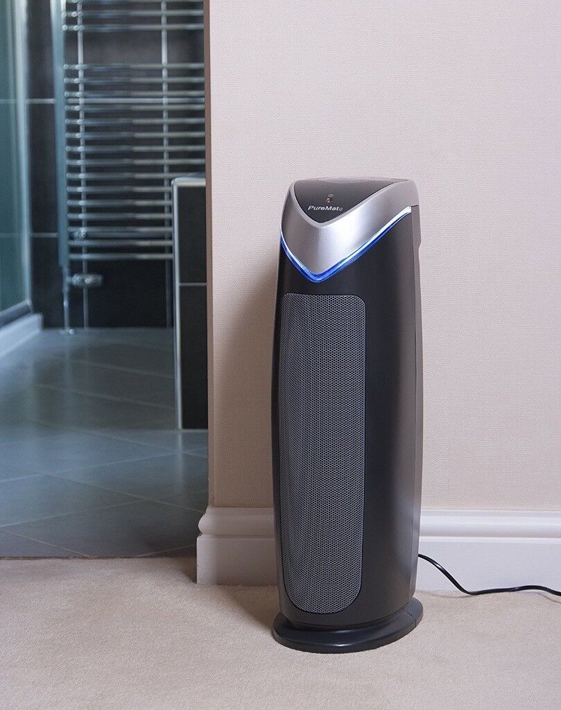 Air Filter - True HEPA Air Purifier and Ioniser with UV-C and Odor Reduction