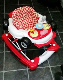 2 in 1 Boys Car Rocker and Walker