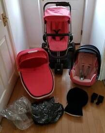 Quinny buzz 3 in 1 travel system pushchair