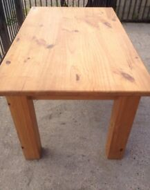 SOLID WOOD Kitchen Dining Table VGC Cape Country Pine Table 145 cm x 90 cm